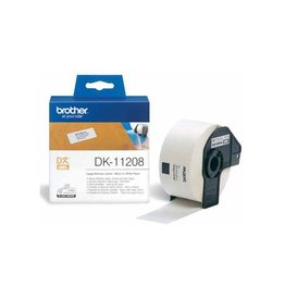 Brother Label Brother DK11208 38mmx90mm B/W