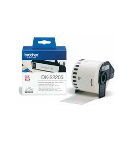 Brother Brother tape voor QL 62 mm, witte papiertape