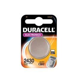 Duracell Duracell knoopcel Electronics CR2430, op blister