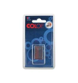 Colop Colop stempelkussen tweekleurig (blauw/rood), voor stempel S
