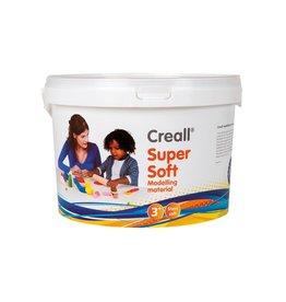 Creall Havo boetseerpasta Supersoft 5 geassorteerde kleuren: rood,