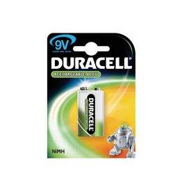 Duracell Duracell oplaadbare batterij 9V, op blister