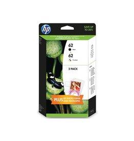 HP Duopack HP No.62 BK/Color + 5sh