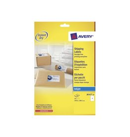 Avery Avery witte etiketten QuickDry 199, 6x289 1mm 10st, 1 per bl