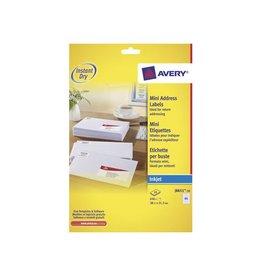 Avery Etiket Avery j8651-10 38.1x21.2mm 650st