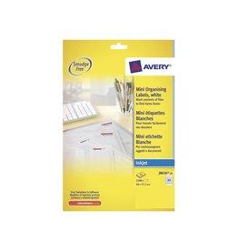 Avery Etiket Avery j8656-25 46x11.1mm 2100st [5st]