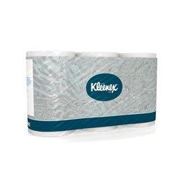 Kleenex Kleenex toiletpapier, 3-laags, 350 vellen, pak van 6 rollen