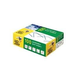 Loeffs Loeff's quickbinder Lengte 100 mm. Doos van 100 stuks.