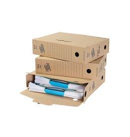 Loeffs Loeff's archiefdoos Universeel Box 345x250x80 mm Pak van 50