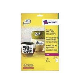 Avery Zweckform Etiket Avery l4774-20 99.1x139mm polyest