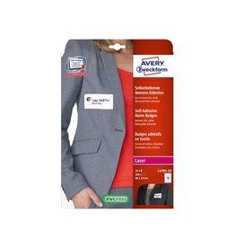 Avery AVERY Zelfklevende badge ft 80 x 50 mm, doos van 200st, wit