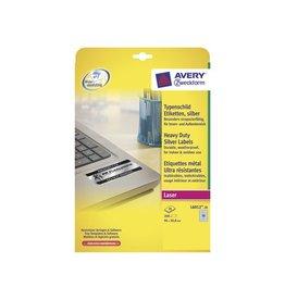 Avery Zweckform Etiket Avery l6012-20 96x50.8mm zilver 2