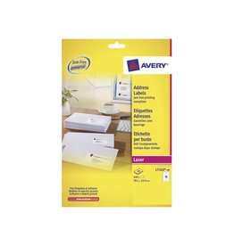 Avery Avery laseretik. QuickPeel 40 bl, 99,1x33,9 mm 640st, 16/bl