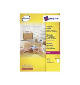 Avery Avery witte l.etik. QuickPeel 100bl 199,6x289,1mm 100st 1/bl