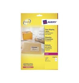 Avery Etiket Avery l7565-25 99.1x67.7mm transp