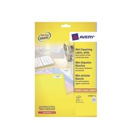 Avery Etiket Avery l7656-25 46x11.1mm 2100st