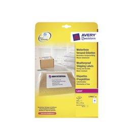 Avery Avery verzendetiketten 99,1x57mm,doos van 250st, 10 per blad