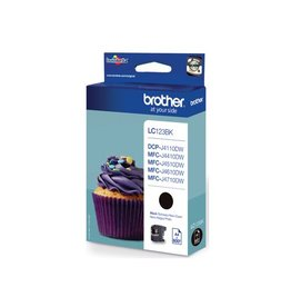Brother Brother LC-123BK ink black 600 pages (original)