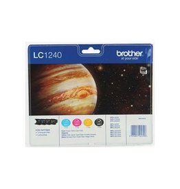 Brother Multipack Brother LC1240 BKCMY 4x600p Blister
