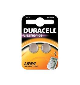 Duracell Duracell knoopcel Electronics LR54, blister van 2 stuks
