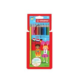 Stabilo Stabilo kleurpotlood Color 12 potloden in een kartonnen etui