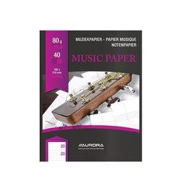 Aurora Bur-O-Class muziekschrift