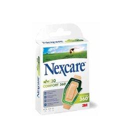3M 3M Nexcare Comfort Strips 30 stuks, 3 maten (6 x 22 mm x 28