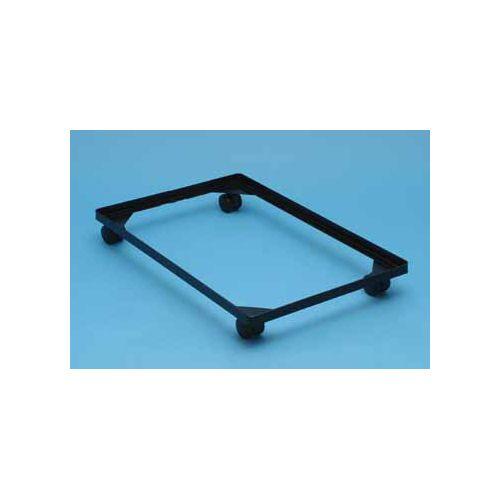 Really Useful Boxes accessoires voor opbergdozen onderstel met wieltjes (diameter: 4,5 mm) uit zwart