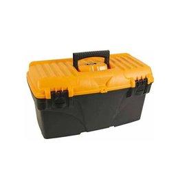 Perel gereedschapskoffer 43,2x25x23,8 leeg geleverd zw/geel
