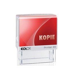 Colop Tekststempel Colop printer 20 kopie rood