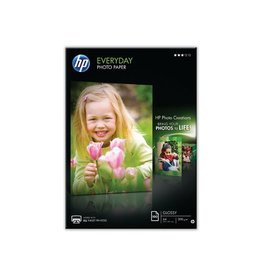 HP Fotopapier HP Everyday A4 200gr Wit Glossy 100vel