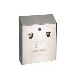 Rubbermaid commercial products Rubbermaid wandasbak, 25,4 x7,6 x31,8cm,gegalvaniseerd staal