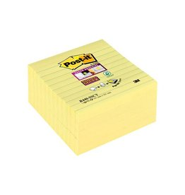 Post-it Post-it Super Sticky Z Notes, kanariegeel ft 101x101mm