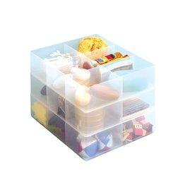 Really Useful Box DIVIDER 6 VAKKEN TRANSPARANT