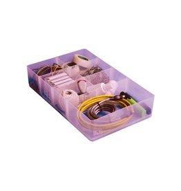 Really Useful Box DIVIDER 7 COMPARTIMENTEN TRANSPARANT VOOR DE 9 LITER