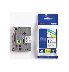Brother Brother TZe tape voor P-Touch 12 mm, zwart op wit