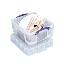 Really Useful Box Really Useful Box 18 liter XL, transparant [6st]