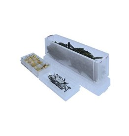 Really Useful Box Really Useful Box 77 liter met 2 dividers, transparant [3st]