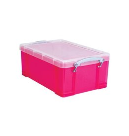 Really Useful Box Really Useful Box 9 liter, transparant helroze