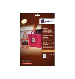 Avery Avery printbare QR-etiketten ft 45 x 45 mm (b x h), 400 stuk