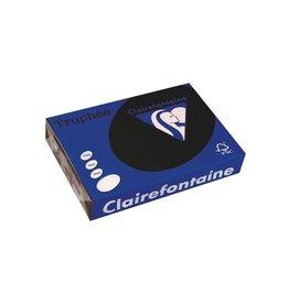 Clairefontaine Papier Clairefontaine Trophée Intens A4 zwart, 160 g, 250 vel