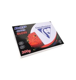 Clairefontaine Papier Clairefontaine Papier A4 200gr Wit DCP Coated Gloss 250vel