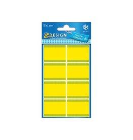 Avery Zweckform Avery diepvriesetiketten in blister, geel, 40 etiketten