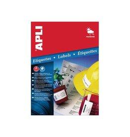 Apli Apli Weerbestendige etiketten ft 64,6 x 33,8 mm (b x h), 480