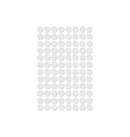 Apli Apli ronde etiketten in etui diameter 8 mm, wit, 480 stuks,
