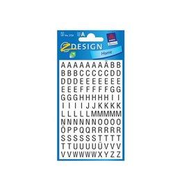 Avery Zweckform Avery Etiketten cijfers en letters A-Z, 120 stuks