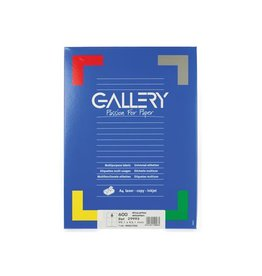 Gallery Gallery witte etiketten ft 99,1 x 93,1 mm (b x h), ronde hoe