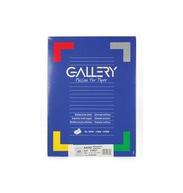 Gallery Gallery witte etiketten ft 38,1 x 21,2 mm (b x h), ronde hoe