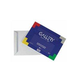 Gallery Gallery enveloppen 229x324mm gegomd binnenzijde blauw 10st