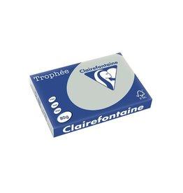 Clairefontaine Papier Clairefontaine Trophée Pastel A3 lichtgrijs, 80 g, 500 vel